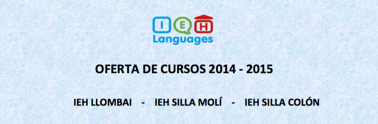 IEH-Languages-Blog-Horario